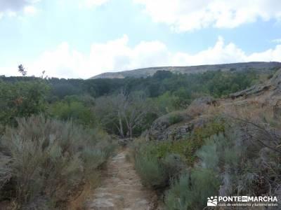 Valle del Alto Alberche;garganta divina del cares grupos de trekking